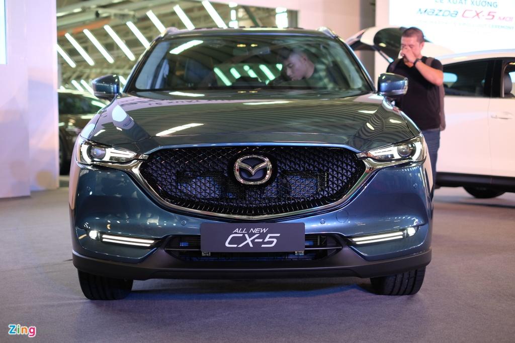 Mazda CX-5 2018 gia tu 879 trieu dong tai Viet Nam hinh anh 8
