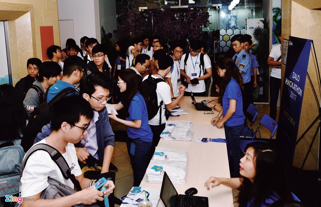 Chung ket Zalo Hackathon 2017 dang dien ra o Sai Gon hinh anh 1