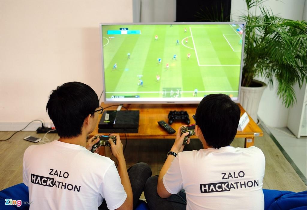Chung ket Zalo Hackathon 2017 dang dien ra o Sai Gon hinh anh 13