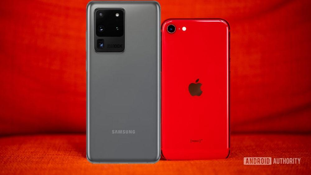 So sanh iPhone SE 2020 va may Android cao cap hinh anh 1 Z18226052020.jpg