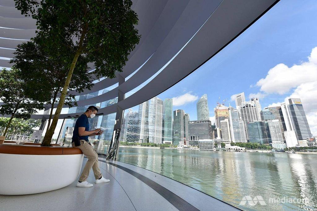 Apple Store tai Marina Bay Sands Singapore anh 7