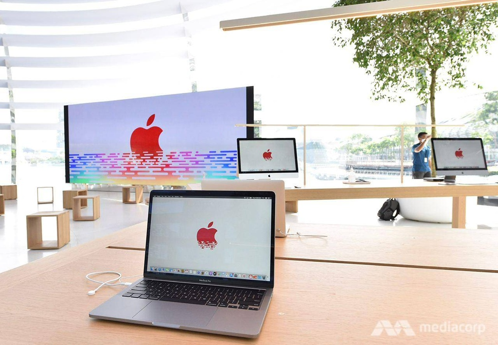 Apple Store tai Marina Bay Sands Singapore anh 8