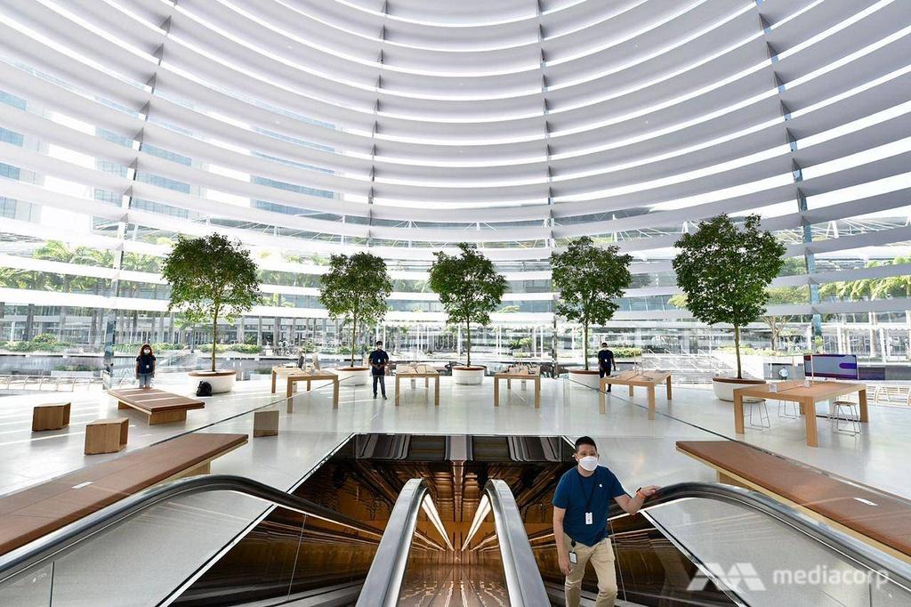 Apple Store tai Marina Bay Sands Singapore anh 9