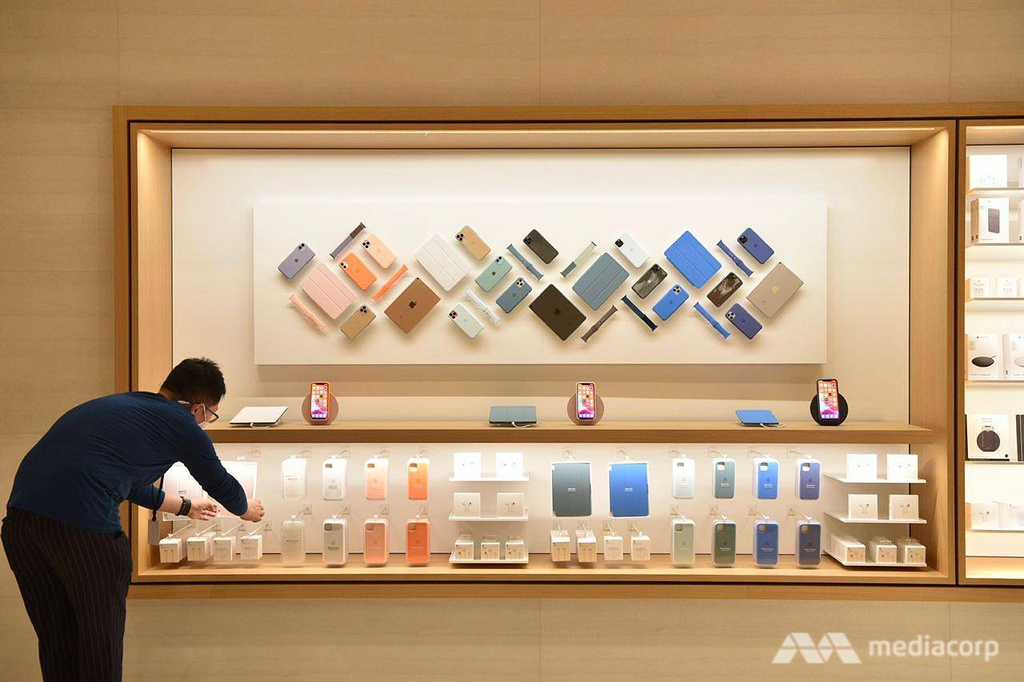 Apple Store tai Marina Bay Sands Singapore anh 12