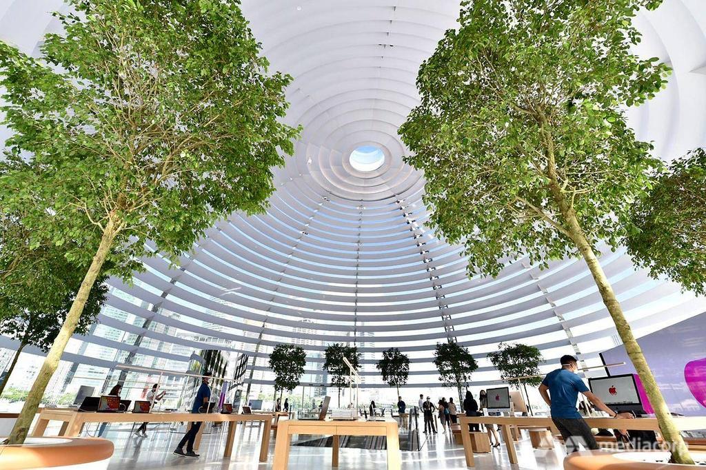 Apple Store tai Marina Bay Sands Singapore anh 15