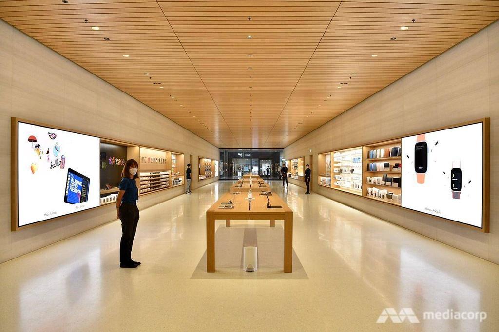 Apple Store tai Marina Bay Sands Singapore anh 14
