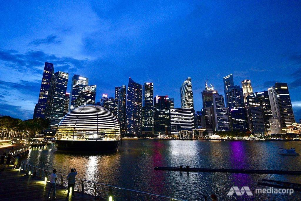 Apple Store tai Marina Bay Sands Singapore anh 17