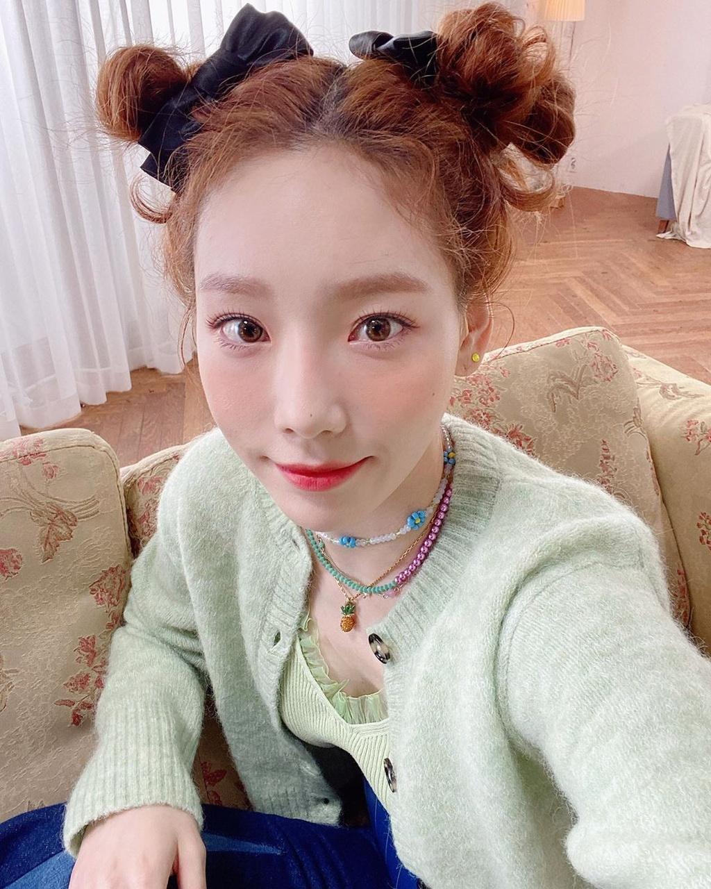 Taeyeon cham soc da nhu the nao anh 4