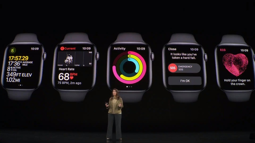 apple watch series 5 co gia tu 399 usd anh 3