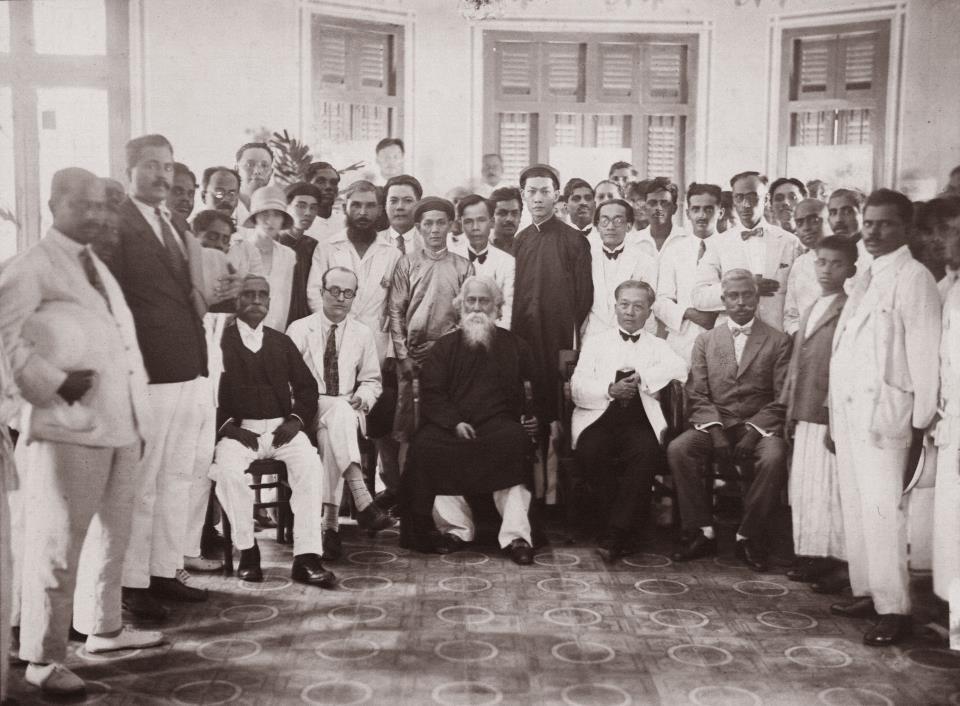 Tagore,  Sai Gon,  An Do,  Nobel Van chuong, anh 2