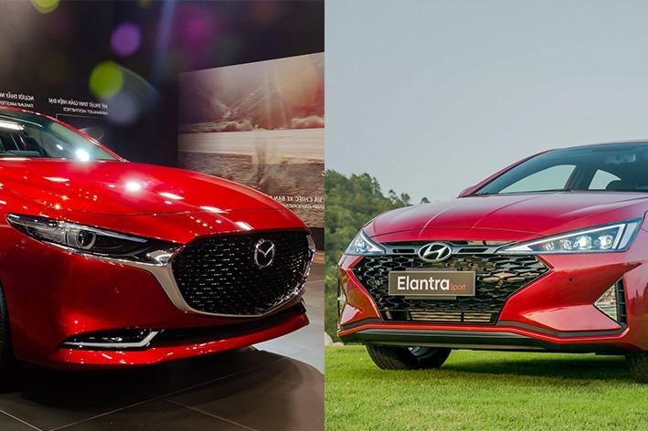 So sanh Mazda3 va Hyundai Elantra anh 1