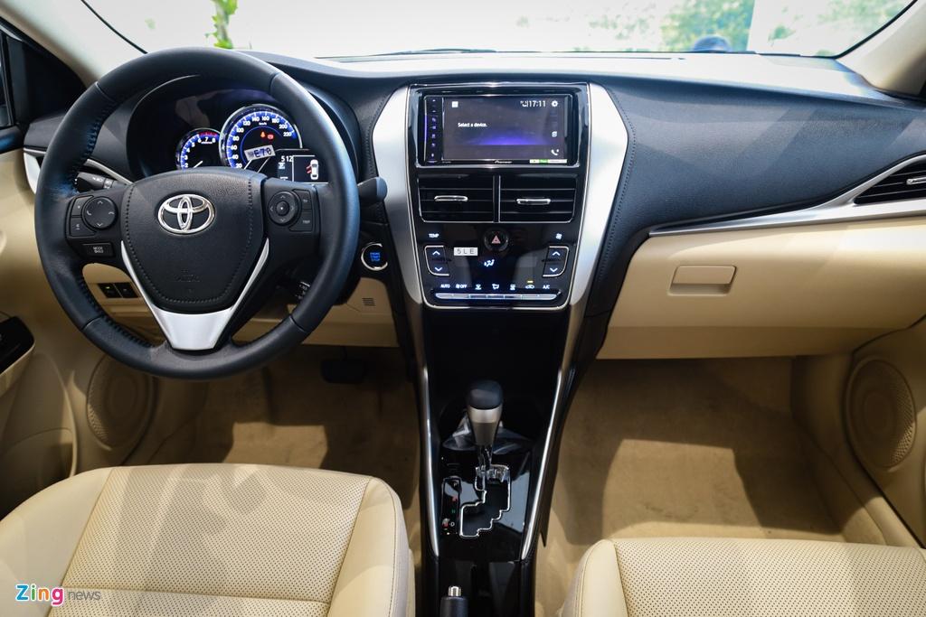 So sanh Mitsubishi Attrage va Toyota Vios anh 11