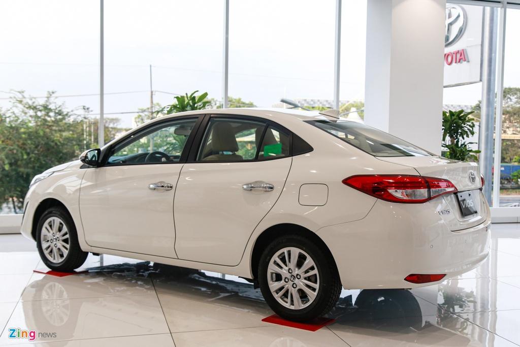 So sanh Mitsubishi Attrage va Toyota Vios anh 8