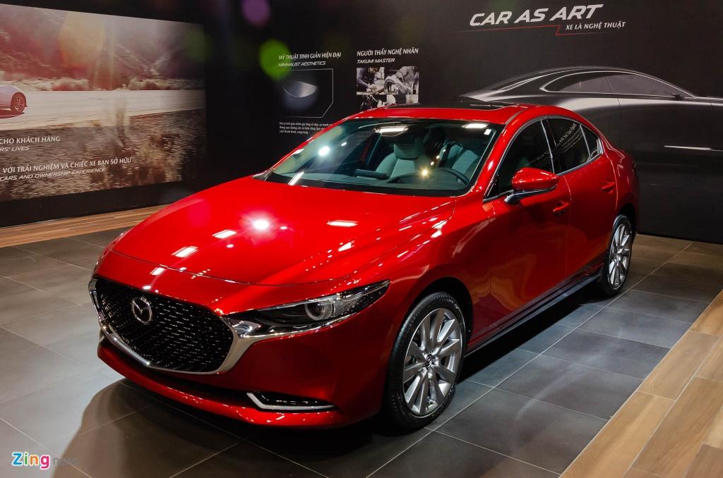 Gia lan banh cua 10 xe an khach nhat VN neu phi truoc ba giam 50% hinh anh 9 Mazda3_2020_1_Zing.jpg