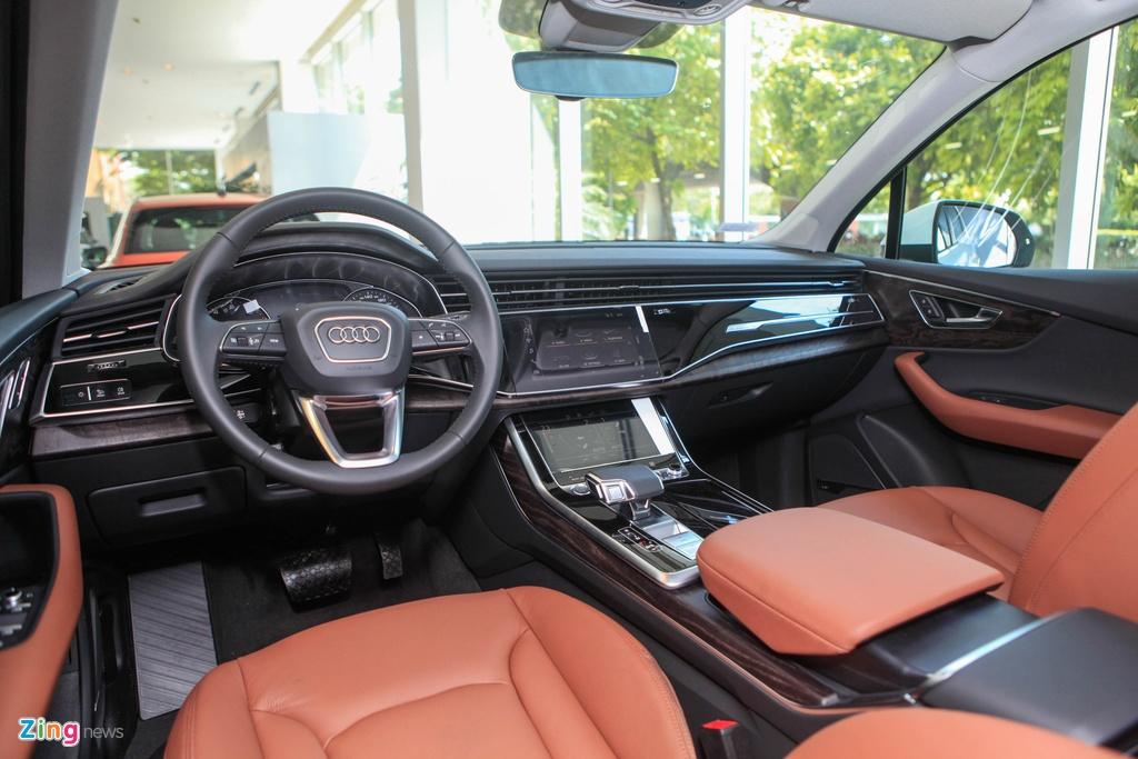 Audi Q7 va Mercedes-Benz GLE - chon SUV sang nao voi hon 4 ty dong? hinh anh 7 Audi_Q7_2020_zing_12.jpg