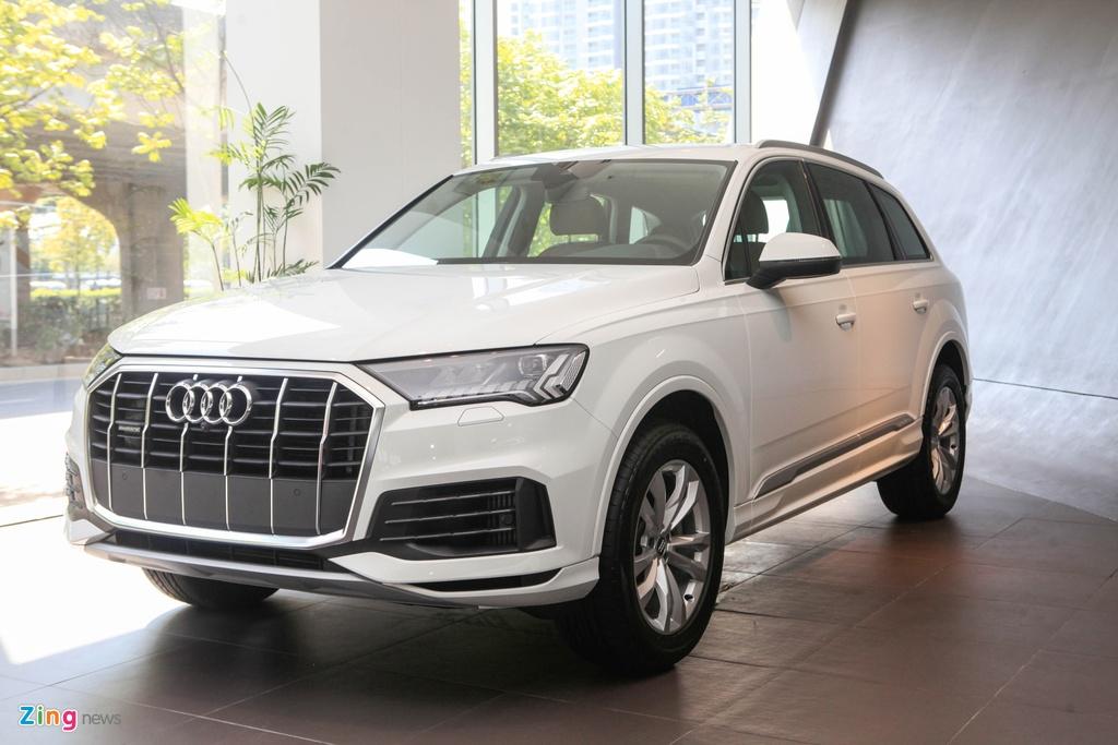 Audi Q7 va Mercedes-Benz GLE - chon SUV sang nao voi hon 4 ty dong? hinh anh 2 Audi_Q7_2020_zing_23.jpg
