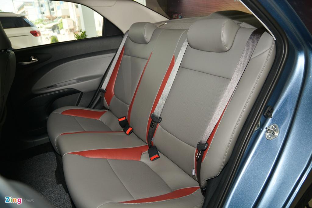 500 trieu dong chon Kia Soluto AT Luxury hay Toyota Vios 1.5E CVT? hinh anh 13 13_SolutoATLuxury_zing.jpg