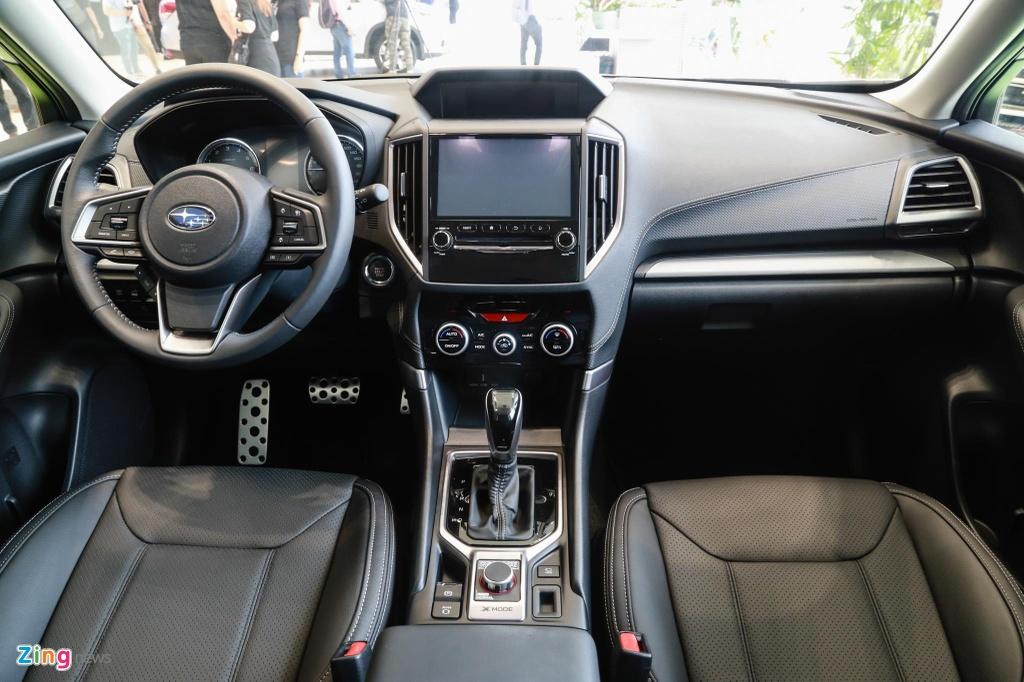 Subaru Forester va Honda CR-V - chon trai nghiem lai hay su thuc dung? hinh anh 9 Subaru_Forester_14_zing.jpg