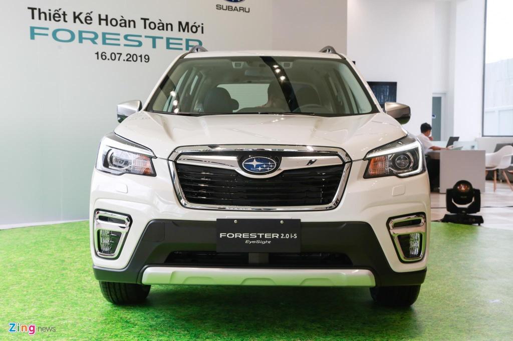 Subaru Forester va Honda CR-V - chon trai nghiem lai hay su thuc dung? hinh anh 2 Subaru_Forester_3_zing.jpg