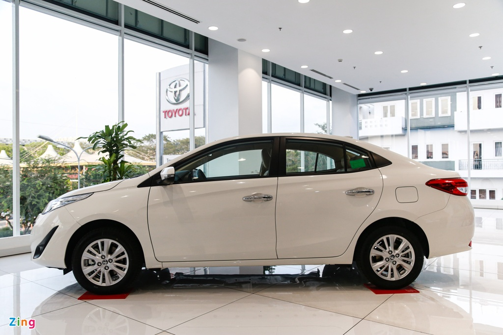 500 trieu dong chon Kia Soluto AT Luxury hay Toyota Vios 1.5E CVT? hinh anh 5 Vios_7_zing.jpg