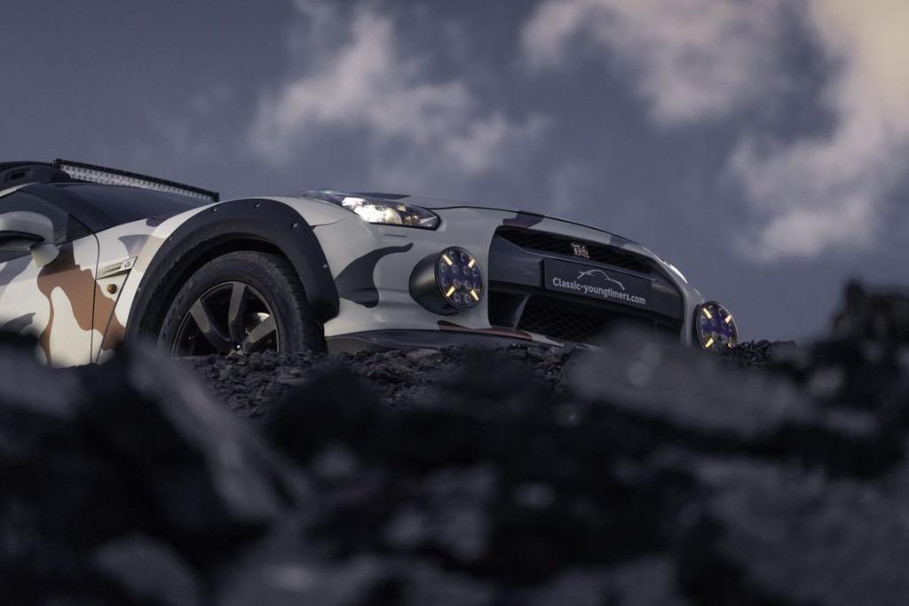 Nissan GT-R Godzilla 2.0 do off-road 600 ma luc anh 16