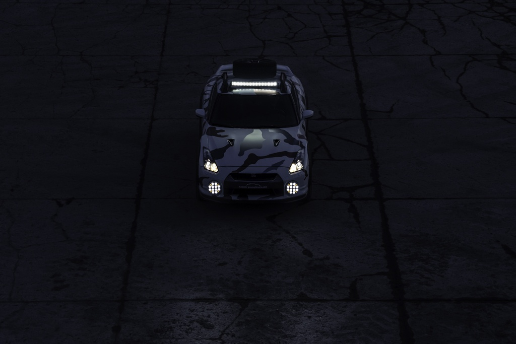 Nissan GT-R Godzilla 2.0 do off-road 600 ma luc anh 14