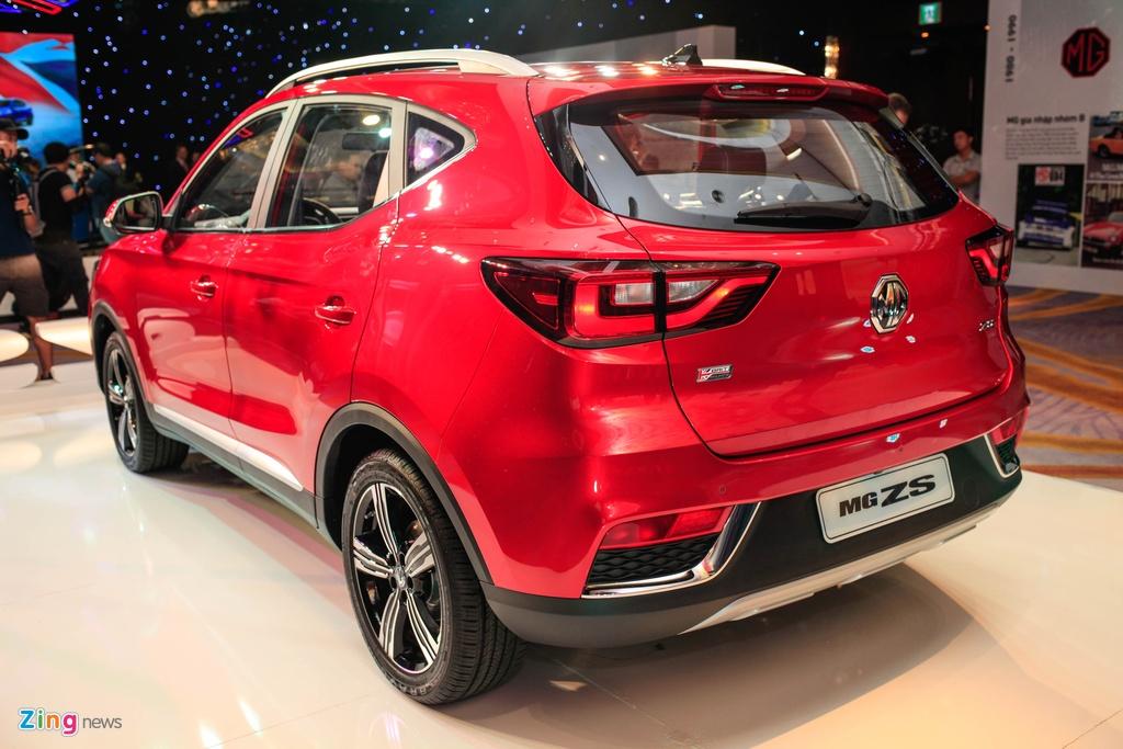 Chi tiet MG ZS doi thu Hyundai Kona tai Viet Nam anh 3