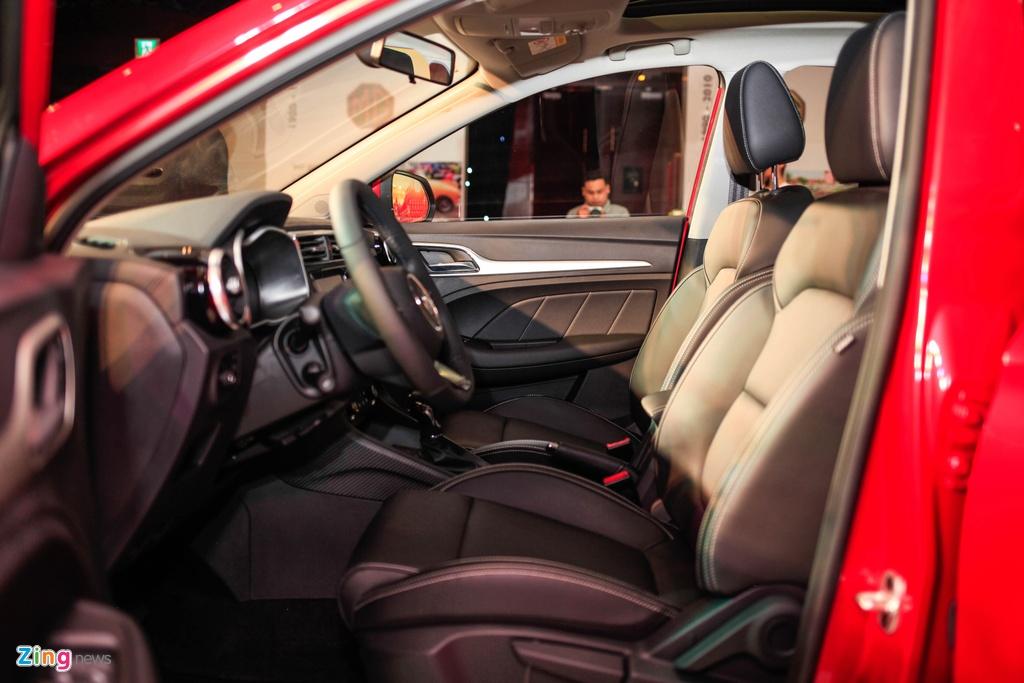 Chi tiet MG ZS doi thu Hyundai Kona tai Viet Nam anh 12