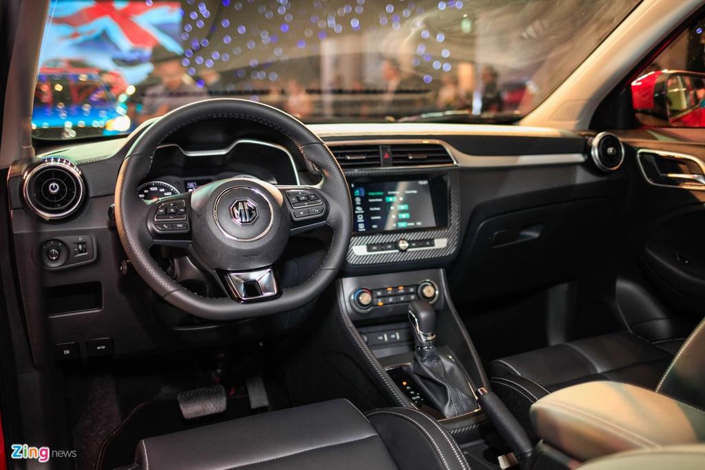 Chi tiet MG ZS doi thu Hyundai Kona tai Viet Nam anh 8