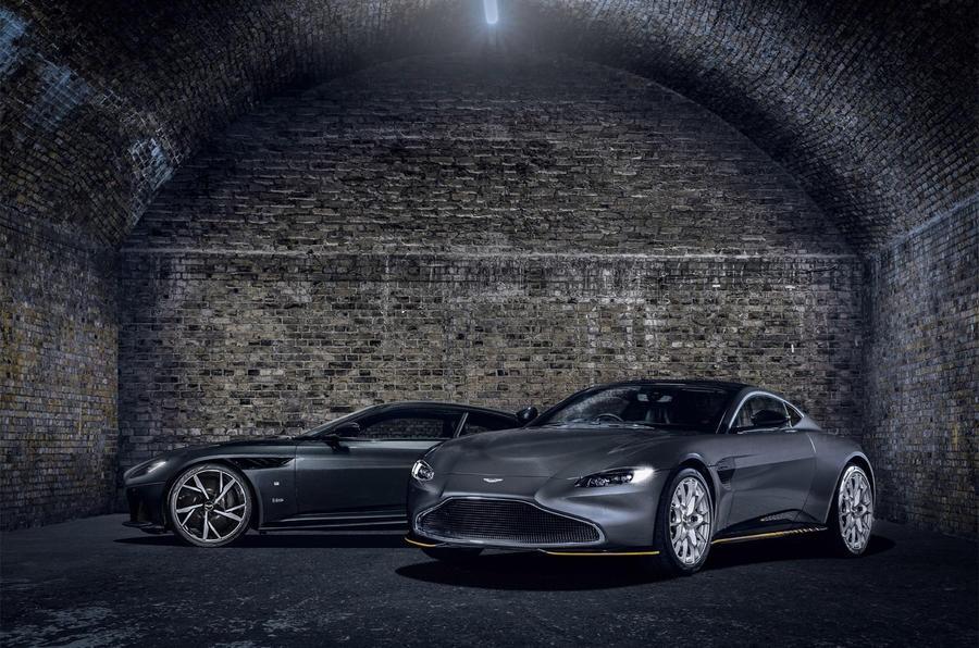 Aston Martin Vantage va DBS Superleggera ban diep vien 007 anh 3
