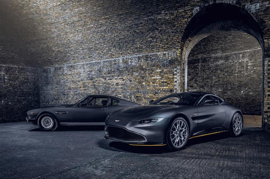 Aston Martin Vantage va DBS Superleggera ban diep vien 007 anh 25