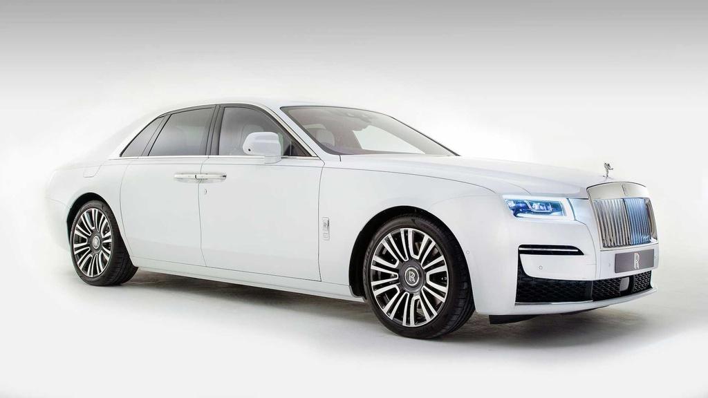 Rolls-Royce Ghost 2021 trinh lang,  gia tu 332.500 USD anh 2