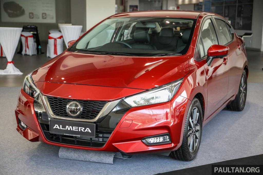 Nissan Sunny 2020 duoc ra mat tai Malaysia anh 5