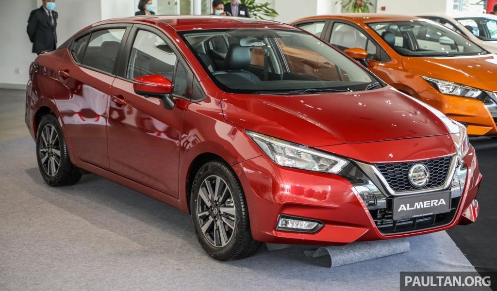 Nissan Sunny 2020 duoc ra mat tai Malaysia anh 1
