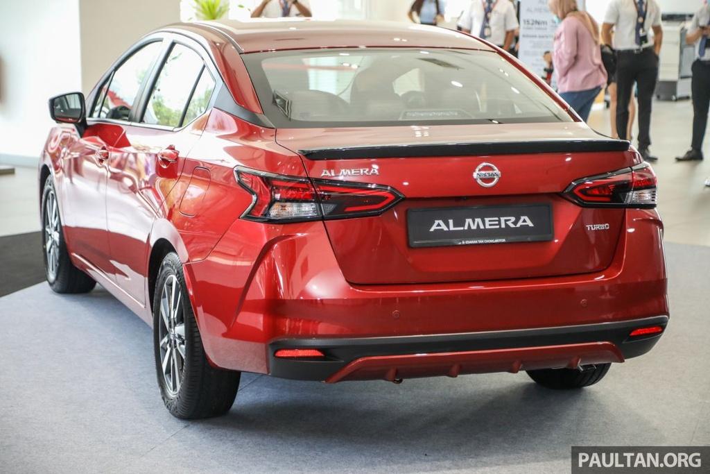 Nissan Sunny 2020 duoc ra mat tai Malaysia anh 6
