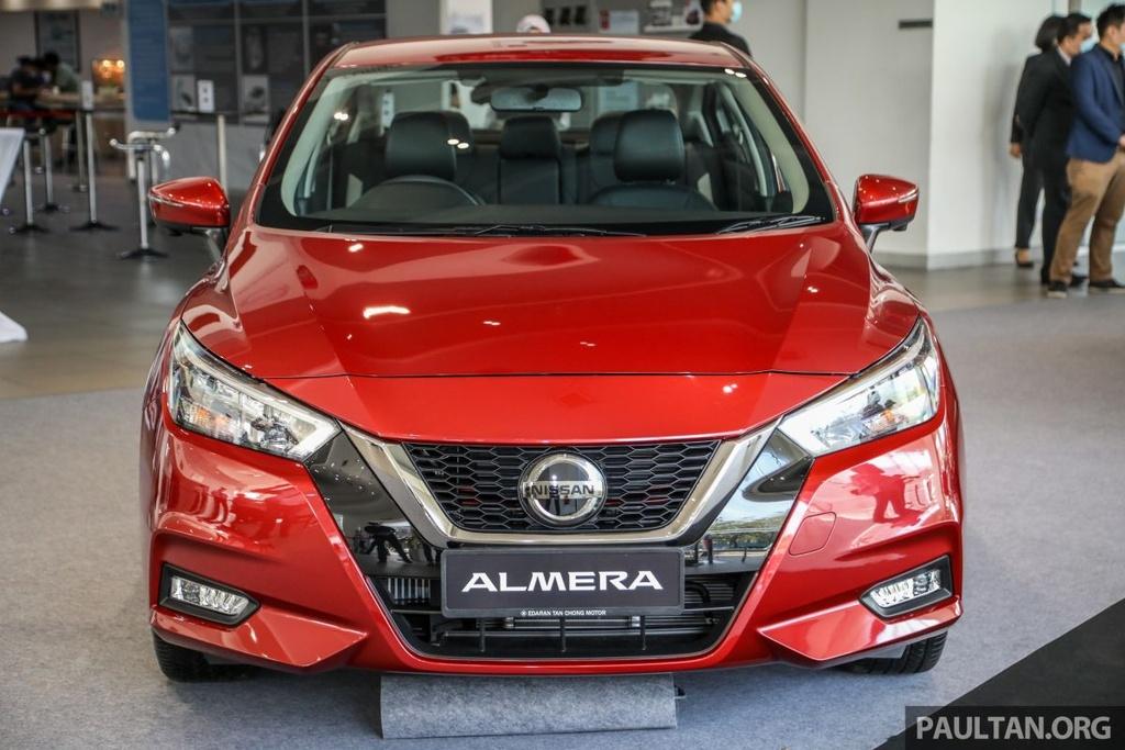 Nissan Sunny 2020 duoc ra mat tai Malaysia anh 2
