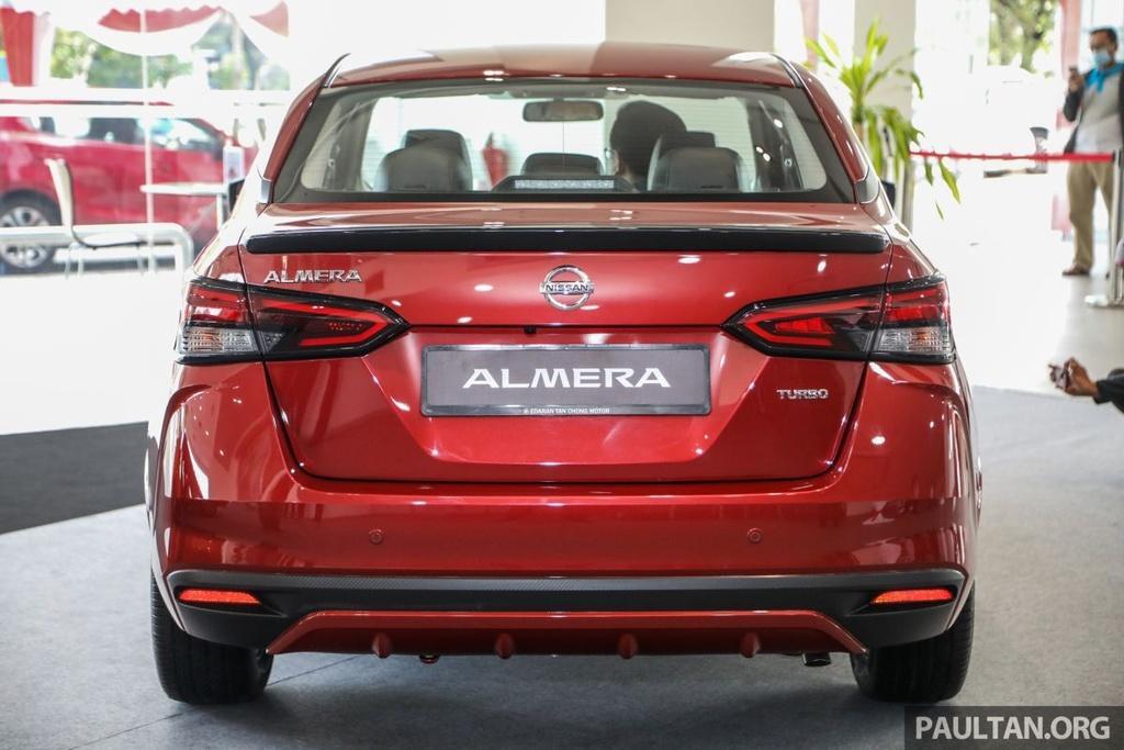 Nissan Sunny 2020 duoc ra mat tai Malaysia anh 3