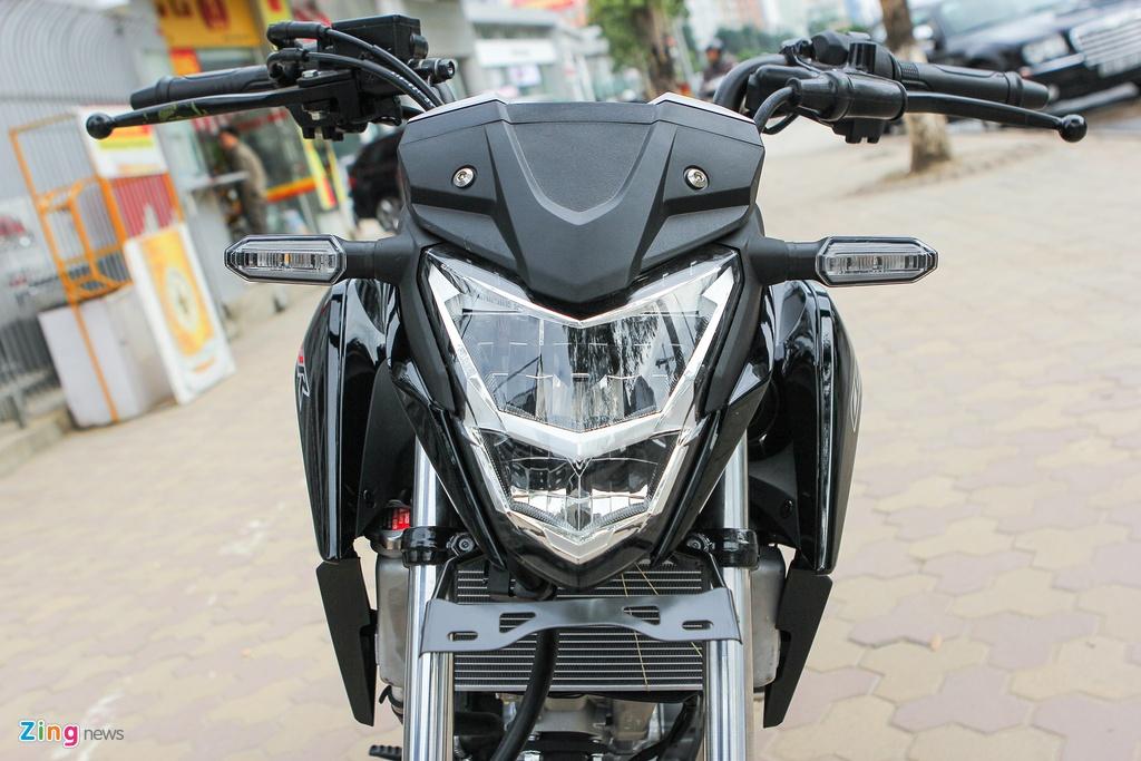 Can canh naked bike 150 phan khoi cua Honda moi ve Ha Noi hinh anh 4 Thay đổi lớn