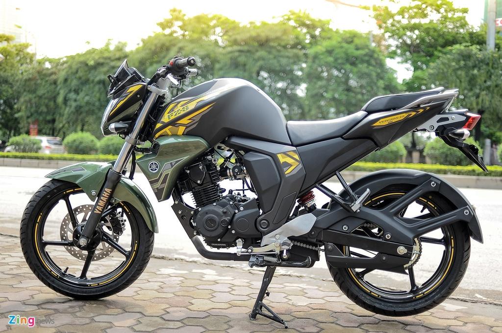 Yamaha FZ-S V2.0 2016 gia hon 70 trieu ve Ha Noi hinh anh 1