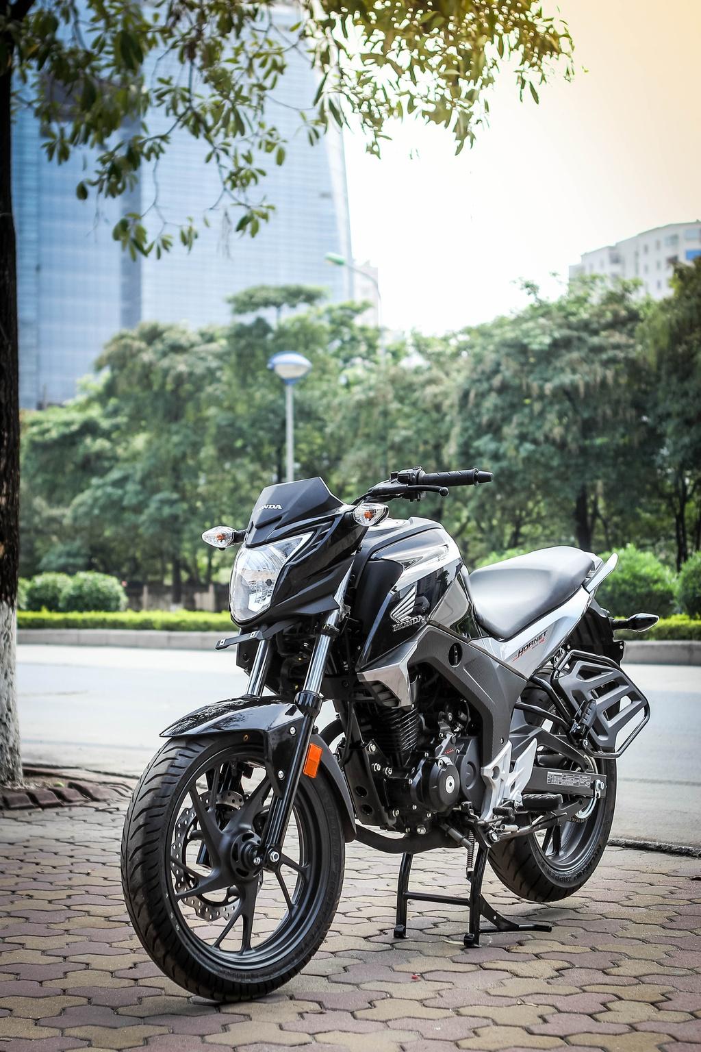 Honda CB Hornet 160R gia hon 80 trieu dau tien ve Viet Nam hinh anh 2