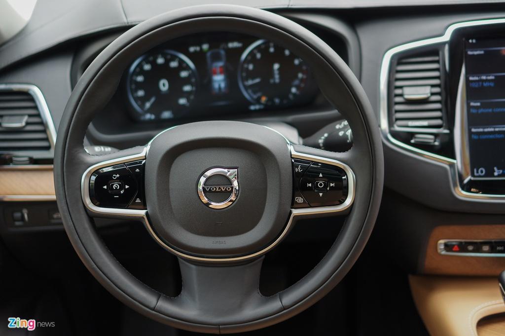 Chi tiet Volvo XC90 T6 Inscription - doi thu Audi Q7 tai VN hinh anh 8