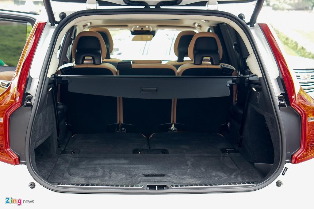 Chi tiet Volvo XC90 T6 Inscription - doi thu Audi Q7 tai VN hinh anh 17