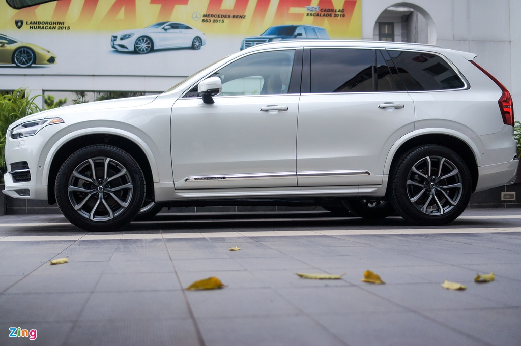 Chi tiet Volvo XC90 T6 Inscription - doi thu Audi Q7 tai VN hinh anh 3