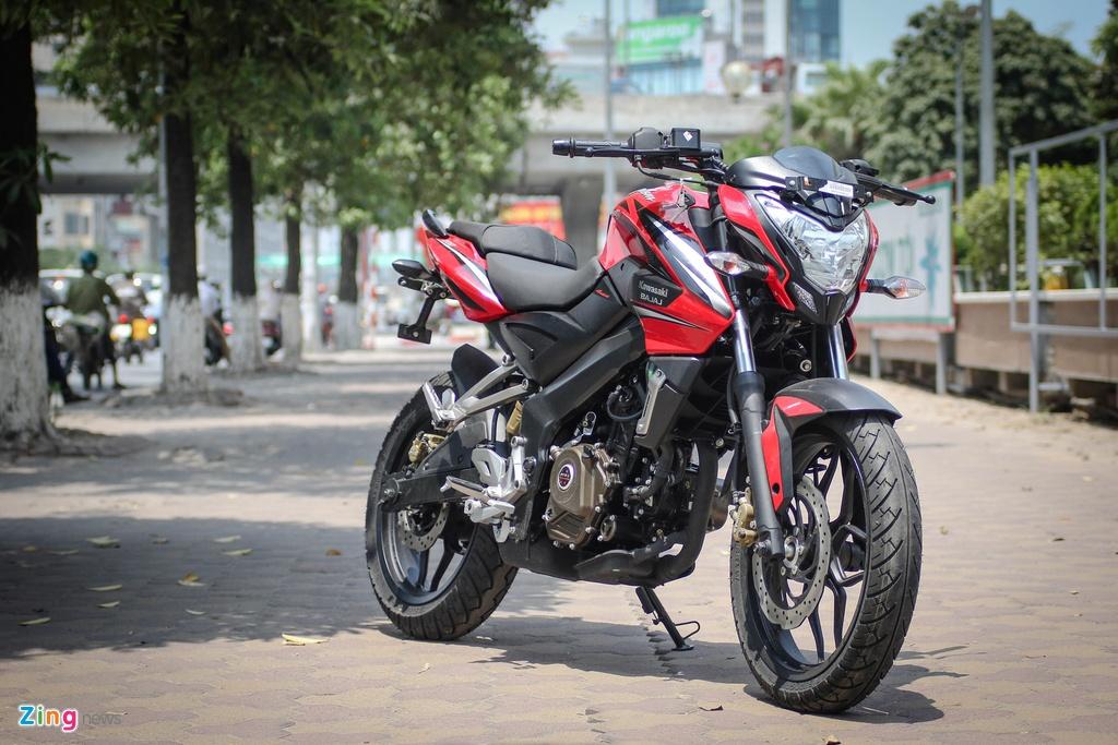 Moto 200 phan khoi gia re gan mac Kawasaki tai Ha Noi hinh anh 1