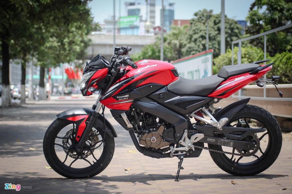 Moto 200 phan khoi gia re gan mac Kawasaki tai Ha Noi hinh anh 2