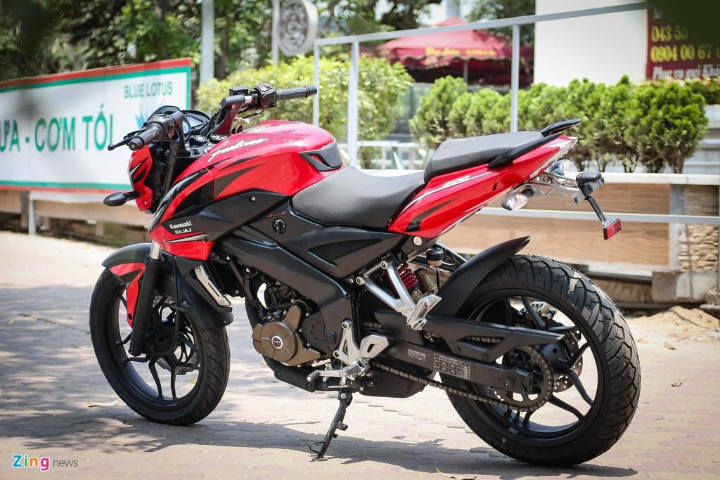 Moto 200 phan khoi gia re gan mac Kawasaki tai Ha Noi hinh anh 14