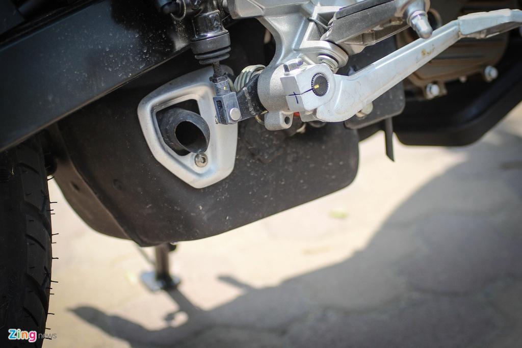 Moto 200 phan khoi gia re gan mac Kawasaki tai Ha Noi hinh anh 11