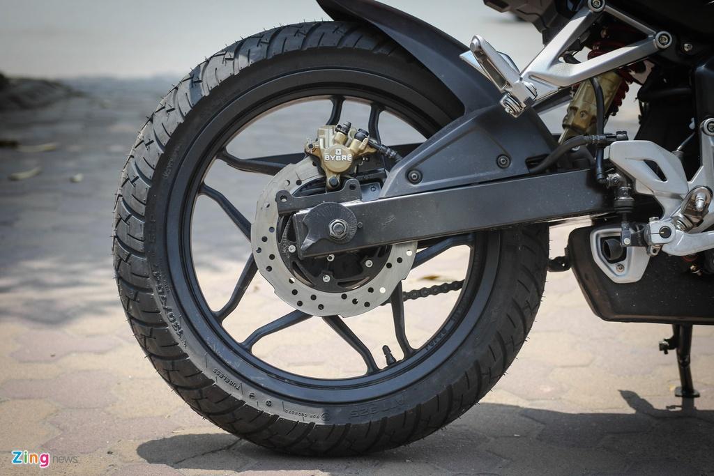 Moto 200 phan khoi gia re gan mac Kawasaki tai Ha Noi hinh anh 12