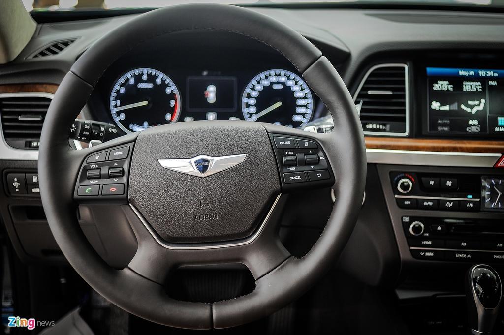 Hyundai Genesis sedan gia hon 2 ty tai Ha Noi hinh anh 8