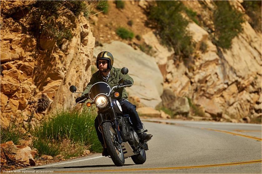Yamaha SCR950 doi thu Ducati Scrambler anh 4